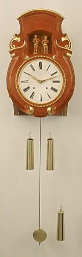 Wandflötenuhr mit 17 Tonstufen NFW17_00