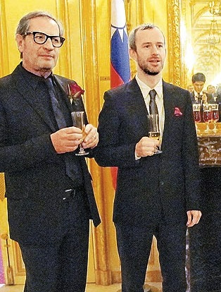 GIVENCHY European Sales Director Nereo Friso, CDG Global Sales Director Enda Cleary