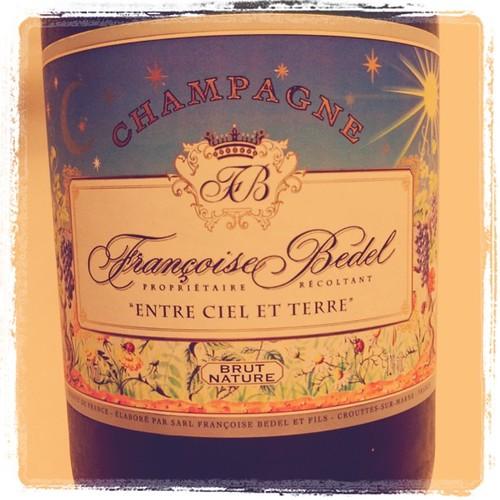Francois Bedel Entre Ciel et Terre N.V. Brut Nature, Champagne