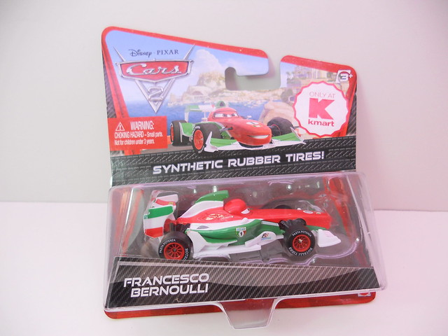 disney cars 2 kmart event 2011 Fransceco bernoulli rubber tires (1)