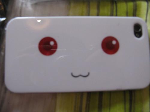 Kyubey Madoka Magica iPhone4 case