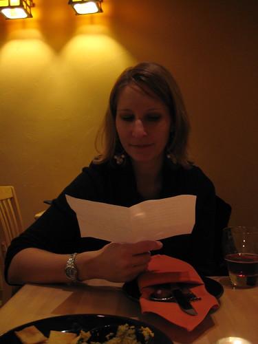 Danielle at Cafe Manna