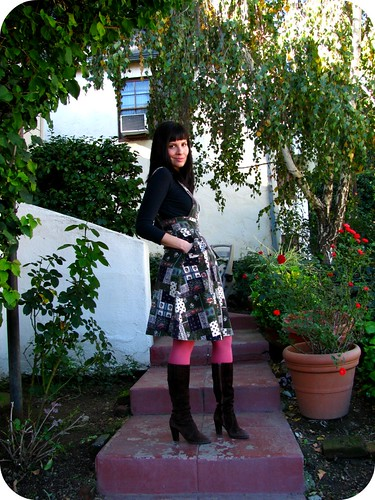 OUTFIT POST: PATCHWORK JUNGLE