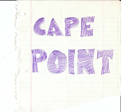 Hitchhiking to Cape Point, South Africa