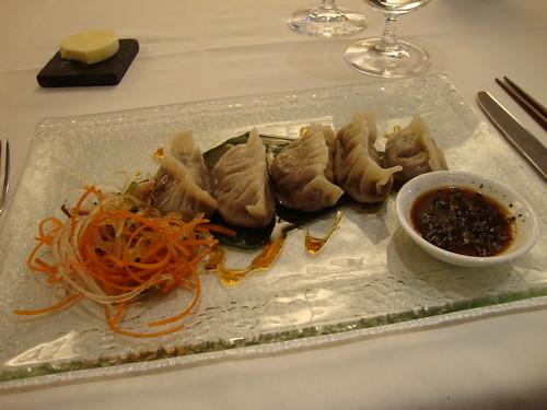 Seared Short Rib Dumplings