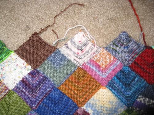 Yarn from Aliesha's scarf