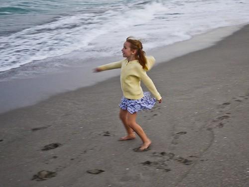 Beach Twirl