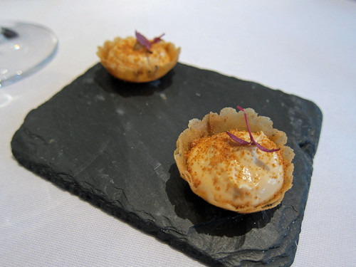 Foie Gras Mousse Tartlets