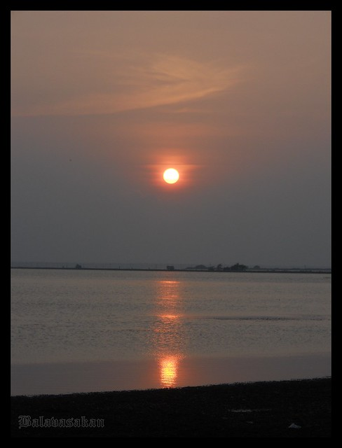 Sunset @ pannai sea, Jaffna