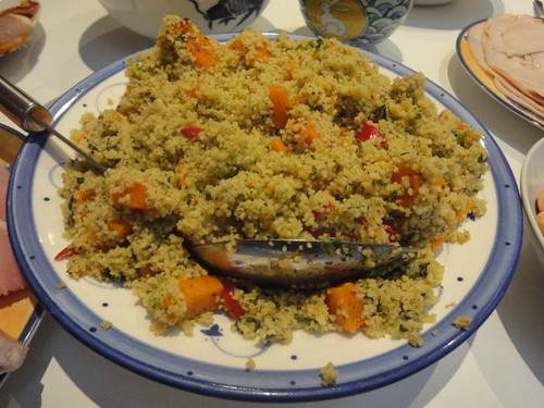 Couscous with pumpkin