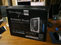 20101121:ゲーム用PCの環境をちょっとだけ変更:SilverStone Strider Plus SST-ST75F-P
