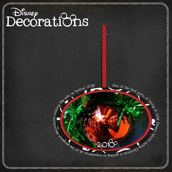 Disney Decorations