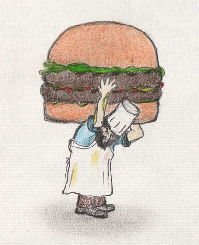Atlas burger by Giant Hamburger