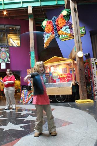 Sadie hoops it up- Louisiana Children's Museum
