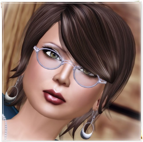 Hatpins - Silver Charlie Spectacles - Sixty Linden Weekend
