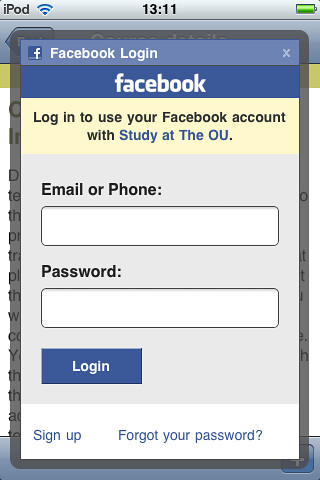 Study at OU app