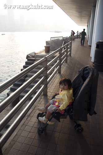 Lia in Central Star Ferry Pier, Kowloon, HK 2010