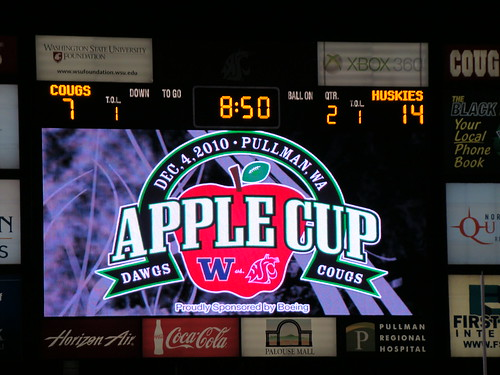 Apple Cup Scoreboard