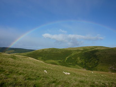 Rainbow over Barrow Law