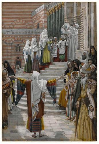 Presentación de Jesús en el templo, Tissot