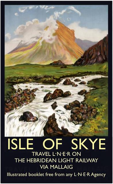 HLR Poster Isle of Skye Railway