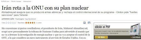 El País - irán