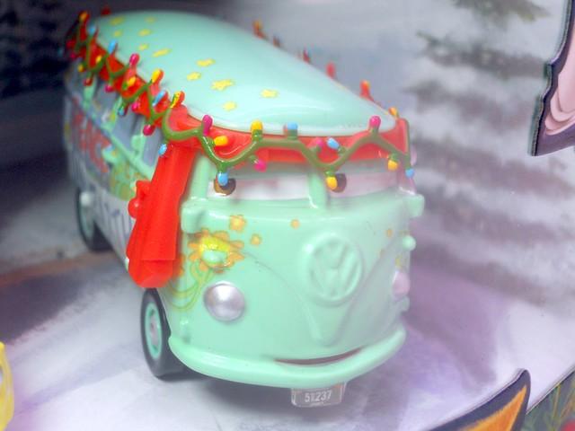 Mater saves christmas story tellers, luigi,guido fillmore,hotshot lightning mcqueen ramone target set (4)