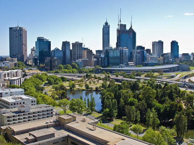 Central Perth from King's Park