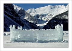 Ice Palace in Lake Louise