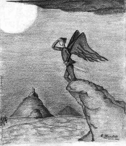 Eine meiner frühen Zeichnungen, die immer als sehr 'düster' bezeichnet wurde...