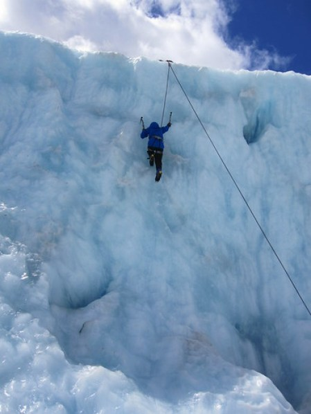Ice Climbing Franz Josef Glacier 7