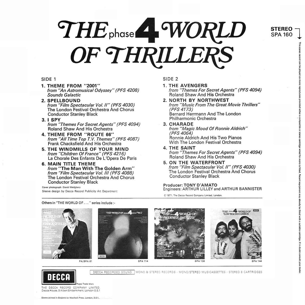 Various Artists - The Phase 4 World of Thrillers