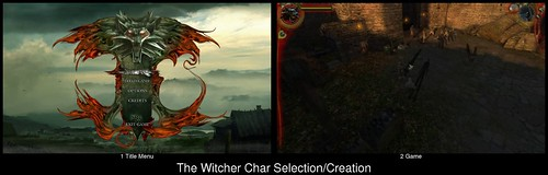 Character Creation in The Witcher (spoiler: there is none)