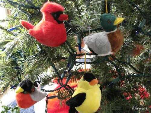 355/365 Bird Ornaments