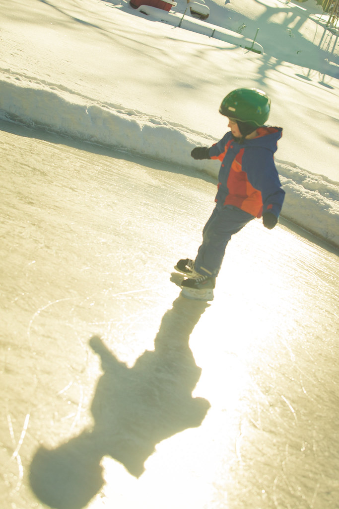 Skating in the Sun