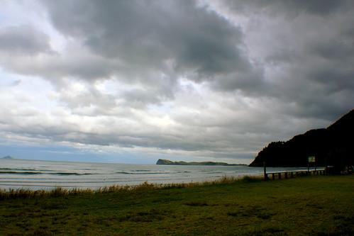 Tuesday: Pauanui Beach after the Rain