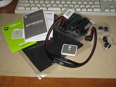 20080119:線がない喜び:Motorola S9 & iPodアダプター D650