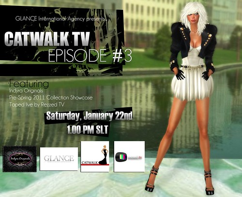 Catwalk TV Episode #3 Flyer