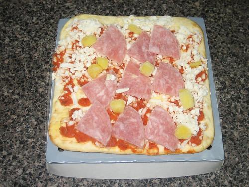 California Pizza Kitchen Hawaiian Recipe Crispy Thin Crust Before