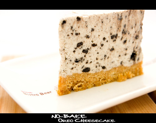 Oreo Cookies and Cream No-Bake Cheesecake