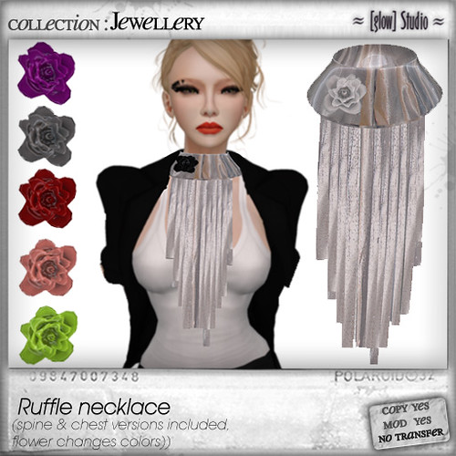 [ glow ] studio Ruffle necklace