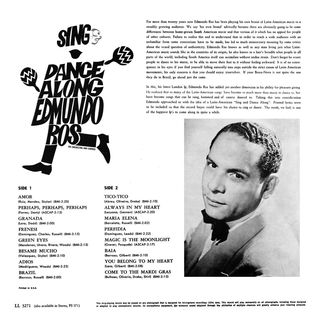 Edmundo Ros - Sing and Dance Along