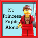 No Princess Alone button