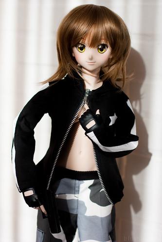 Yoko & her BRS jacket