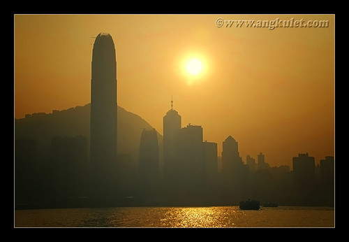 Victoria Harbor, HK 2010