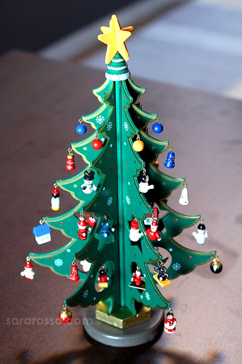 My little wooden German Christmas Tree