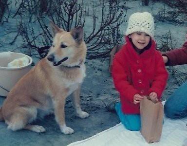 me and lori's dog