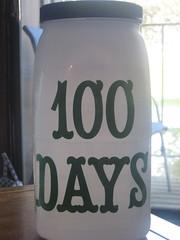 100 Days Challenge Jar