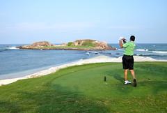 Golf Green Island