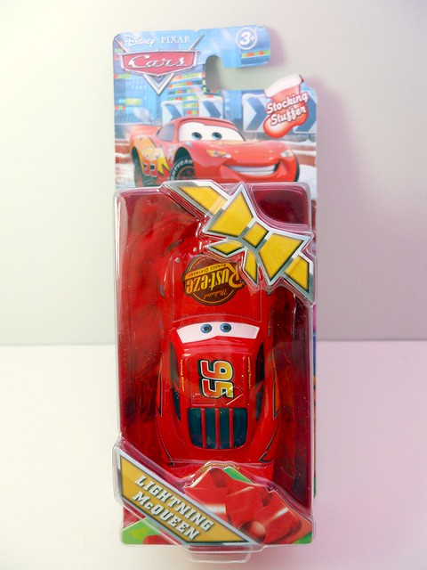 Target Exclusive Disney CARS Christmas Lightning McQueen Stocking Stuffer (1)